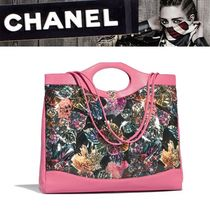 CHANEL 2WAY Leather Totes