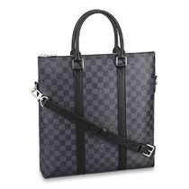 Louis Vuitton DAMIER GRAPHITE Anton Tote