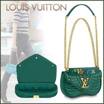 Louis Vuitton Other Check Patterns Blended Fabrics Tassel 2WAY Chain Plain