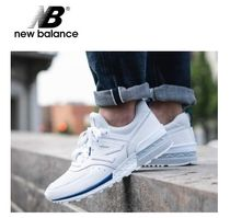 New Balance 574 Plain Leather Sneakers