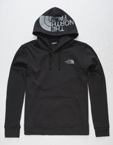 THE NORTH FACE Pullovers Unisex Street Style Long Sleeves Plain Cotton