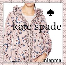 kate spade new york Flower Patterns Casual Style Jackets