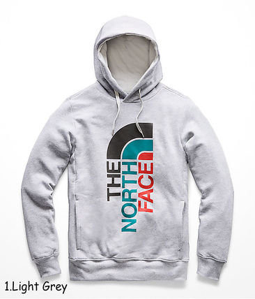 THE NORTH FACE Hoodies Pullovers Sweat Street Style Long Sleeves Oversized Bold 2