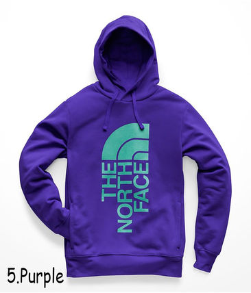THE NORTH FACE Hoodies Pullovers Sweat Street Style Long Sleeves Oversized Bold 10