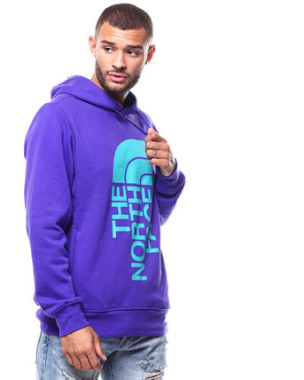 THE NORTH FACE Hoodies Pullovers Sweat Street Style Long Sleeves Oversized Bold 12