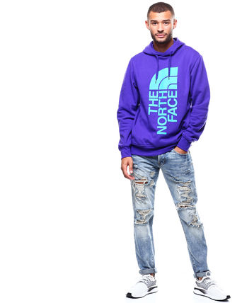 THE NORTH FACE Hoodies Pullovers Sweat Street Style Long Sleeves Oversized Bold 14