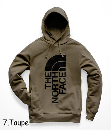 THE NORTH FACE Hoodies Pullovers Sweat Street Style Long Sleeves Oversized Bold 16