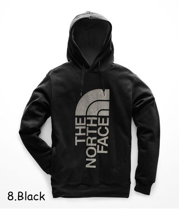 THE NORTH FACE Hoodies Pullovers Sweat Street Style Long Sleeves Oversized Bold 17