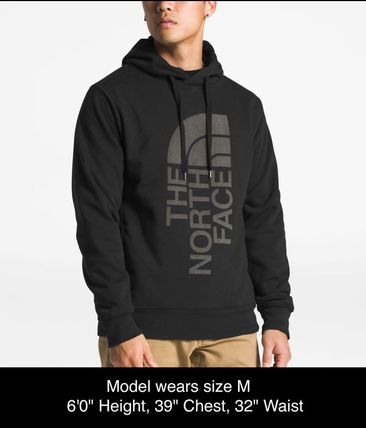 THE NORTH FACE Hoodies Pullovers Sweat Street Style Long Sleeves Oversized Bold 18