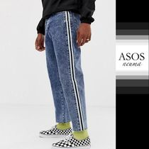 ASOS Stripes Denim Street Style Jeans & Denim