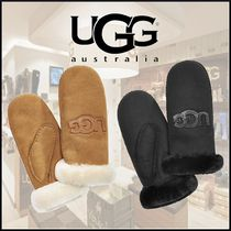 UGG Australia Casual Style Wool Street Style Plain Gloves Gloves