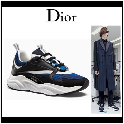 DIOR HOMME 2018-19AW Street Style Leather Sneakers by Hownice - BUYMA bf4c70192ed