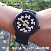 MARC JACOBS Casual Style Street Style Silicon Round Digital Watches