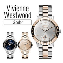 Vivienne Westwood Casual Style Round Quartz Watches Bridal Analog Watches
