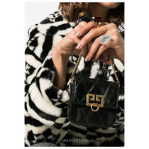 GIVENCHY Leather Elegant Style Party Bags