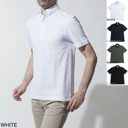 Cotton Short Sleeves Polos
