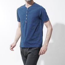 CIRCOLO 1901 Henry Neck Cotton Short Sleeves Henley T-Shirts