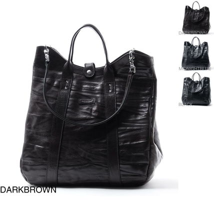 2WAY Leather Totes