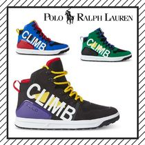 POLO RALPH LAUREN Mountain Boots Street Style Sneakers