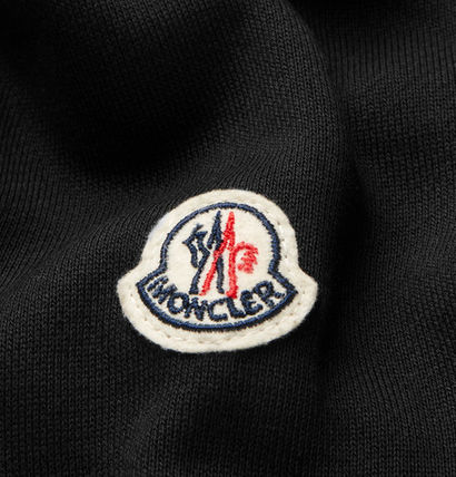 MONCLER Hoodies Blended Fabrics Street Style Long Sleeves Plain Cotton 6
