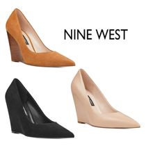 Nine West Leather Wedge Pumps & Mules