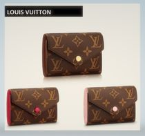 Louis Vuitton MONOGRAM Monoglam Leather Long Wallets