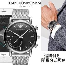 EMPORIO ARMANI Blended Fabrics Watches Watches