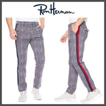 Ron Herman Printed Pants Glen Patterns Street Style Cotton