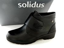 Round Toe Casual Style Leather Wedge Boots