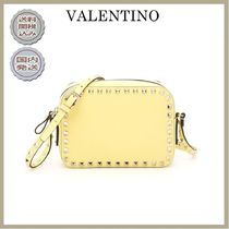 VALENTINO Casual Style Plain Shoulder Bags