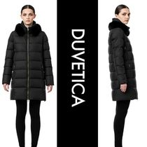 DUVETICA lexy Street Style Plain Long Oversized Down Jackets