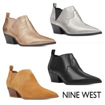 Nine West Leather Ankle & Booties Boots