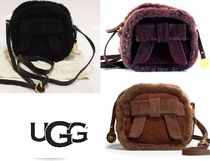 UGG Australia Casual Style Suede Blended Fabrics Street Style Plain
