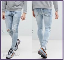 Sixth June Denim Street Style Plain Skinny Fit Jeans & Denim