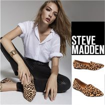Steve Madden Leopard Patterns Spawn Skin Pointed Toe Shoes