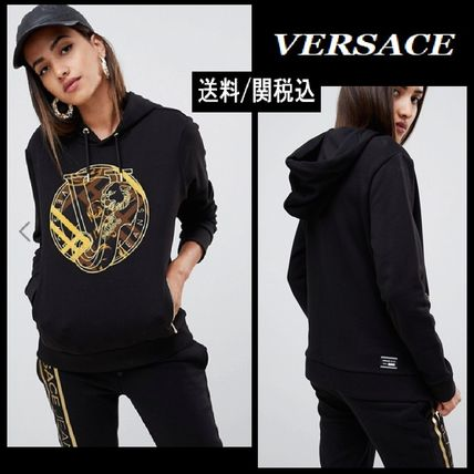 Casual Style Long Sleeves Cotton Hoodies & Sweatshirts
