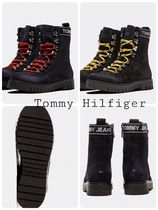 Tommy Hilfiger Mountain Boots Chunky Heels Outdoor Boots