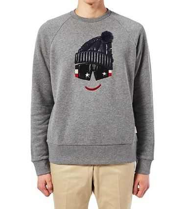 MONCLER Sweatshirts Cotton Sweatshirts