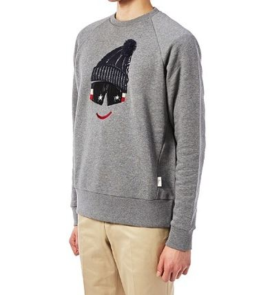 MONCLER Sweatshirts Cotton Sweatshirts 2