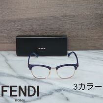 FENDI Unisex Blow Line Optical Eyewear