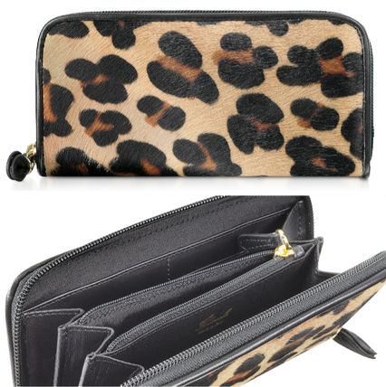 Leopard Patterns Long Wallets