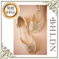 BHLDN Open Toe Leather Party Style Espadrille Shoes