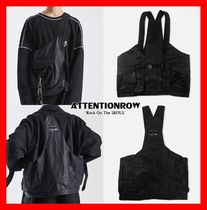 ATTENTIONROW Unisex Street Style Bags