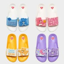 WHO.A.U Street Style Collaboration Logo Sandals