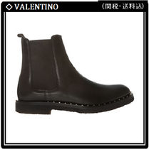 VALENTINO Studded Leather Chelsea Boots Chelsea Boots