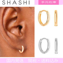Shashi 18K Gold Office Style Earrings & Piercings