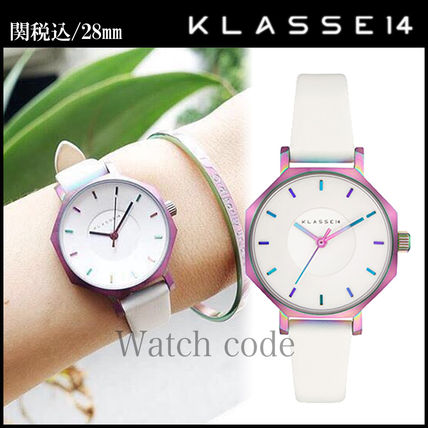 Round Party Style Quartz Watches Stainless Analog Watches