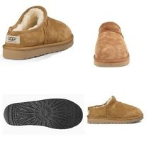 UGG Australia Unisex Sheepskin Plain Slip-On Shoes