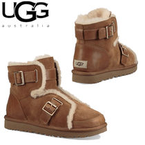 UGG Australia CLASSIC Casual Style Suede Plain Boots Boots