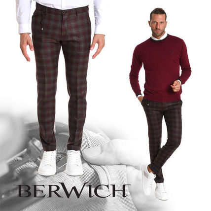 Other Check Patterns Wool Pants